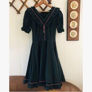 Fiddle Time • Vintage Square Dancing Dress
